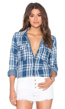 BLANKNYC Plaid Button Up in You Oughta Know