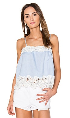 Lace Cami in Perfect Strangers