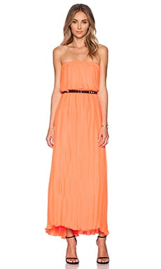 BLAQUE LABEL Pleated Maxi Dress & Skirt in Sorbet