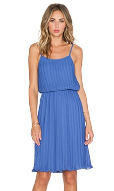 BLAQUE LABEL Pleated Tank Dress in Denim