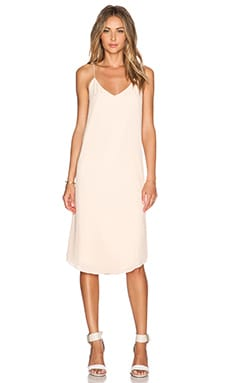 BLAQUE LABEL V-Neck Tank Dress in Blush