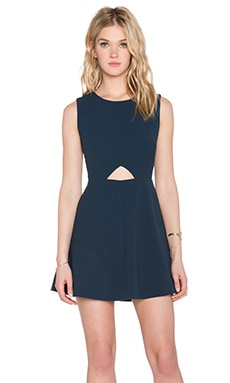 BLAQUE LABEL Cut Out Dress in Navy