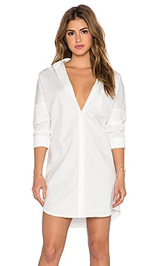 BLAQUE LABEL Shirt Dress in White