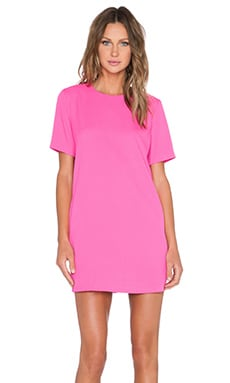 BLAQUE LABEL Shift Dress in Fuchsia