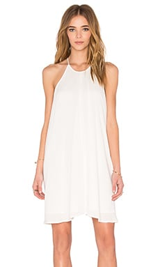 Gauze Dress in White