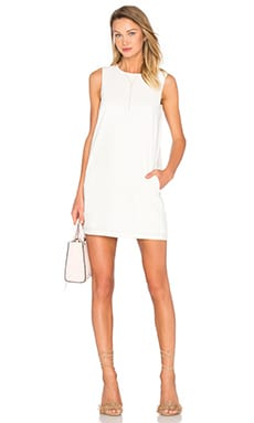 Shift Tank Dress in White