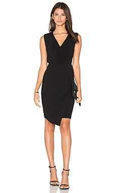 Wrap Dress en Noir
