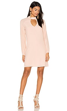 Keyhole Dress in Blush