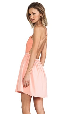 BLAQUE LABEL Dress in Peach