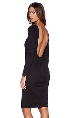 BLAQUE LABEL Open Back Dress in Black