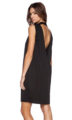 BLAQUE LABEL V Back Dress in Black
