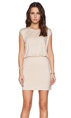 BLAQUE LABEL Bloused Dress in Tan