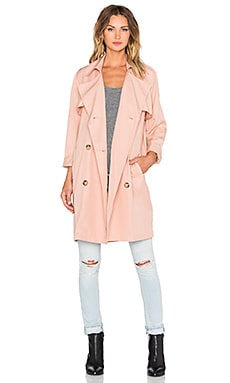 BLAQUE LABEL Trench Coat in Nude
