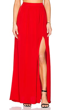 x REVOLVE Maxi Skirt in Red