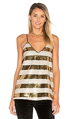 Striped Sequin Cami