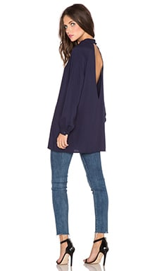 BLAQUE LABEL Cut Out Top in Navy