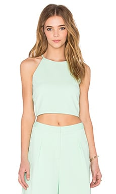BLAQUE LABEL Crop Top in Mint