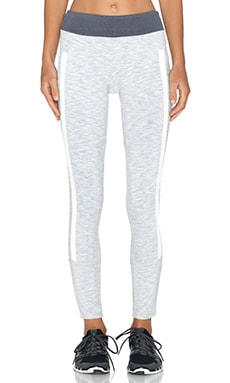 BLANC NOIR Ryder Legging in Space Dye Grey & White