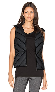 Mesh Inset Reflective Puffer Vest