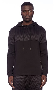 Blood Brother Blackout OTH Hoody in Black