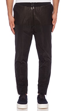 Blood Brother Track Jogger in Black