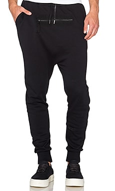Blood Brother Dive Jogger in Black