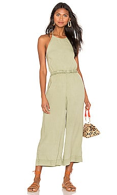 Smocked Back Crop Jumpsuit Bella Dahl $61