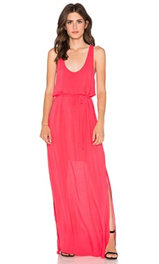 Bella Dahl Racerback Maxi Dress in Sunset Rose