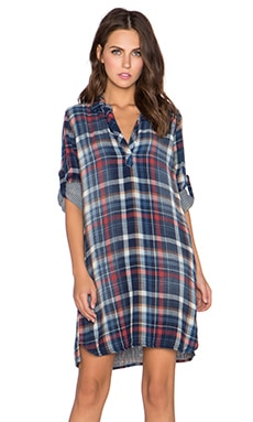 Bella Dahl A-Line Shirt Dress in Vintage Wash
