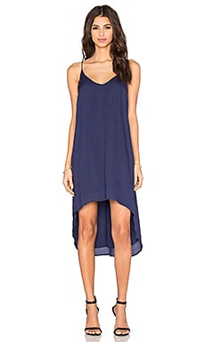 Bella Dahl High Low Hem Dress in Navy Night