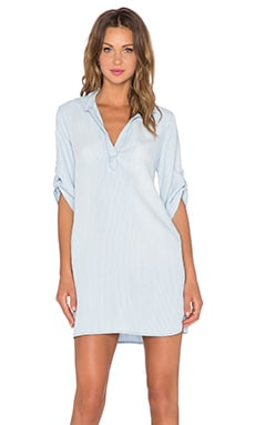 Bella Dahl A-Line Shirt Dress in Sunbleached