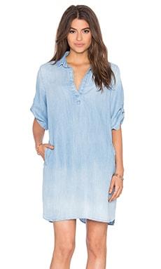 Bella Dahl A Line Shirt Dress in Bay Wash