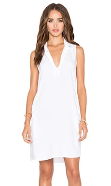 Bella Dahl Sleeveless A Line Dress in White
