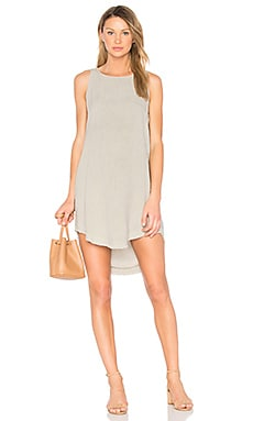Side Button Dress en Meadow