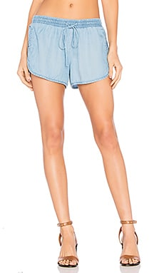 Embroidered Short in Mojave Wash