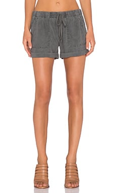 Bella Dahl Easy Pocket Short in Lunar Eclipse