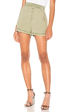 Button Front High Waisted Short Bella Dahl $39 (FINAL SALE)