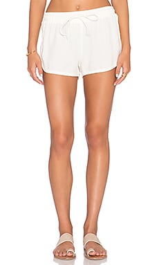 Bella Dahl Sporty Short in Ivory Tusk