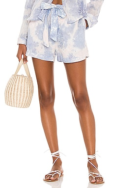 Belted Button Front Shorts Bella Dahl $123