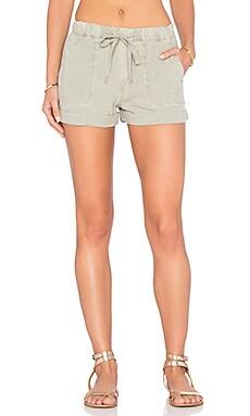 Bella Dahl Easy Pocket Short en Vert Safari