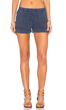 Bella Dahl Easy Pocket Short in Navy Haze