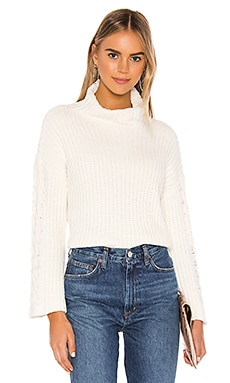 Cable Sleeve Turtle Neck Bella Dahl $128