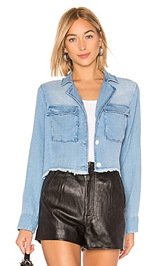 Cropped Military Jacket Bella Dahl $104
