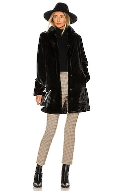 Faux Fur Midi Coat Bella Dahl $275