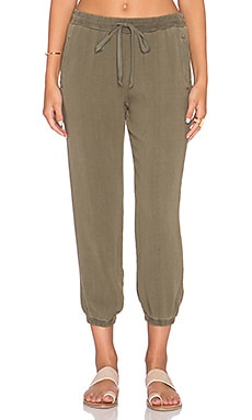 Bella Dahl Easy Sweatpant in Amazon Moss
