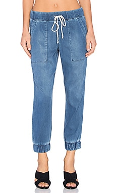 Bella Dahl Denim Jogger in Worn Antique