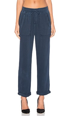Bella Dahl Easy Welt Pocket Trouser in Navy Night