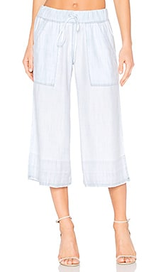 Crop Pant in Shadow Seams Wash