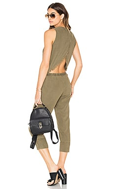 Bella Dahl Tulip Back Jumpsuit in Pine