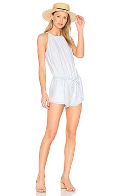 Halter Romper in Shadow Seams Wash